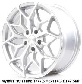 Velg Mobil Myth01 Ring 17 Innova, NAV1, Noah, Lexus Cicilan 0%