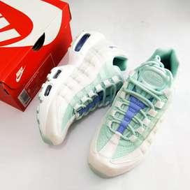Nike air max 95 women's blue aqua original resmi store