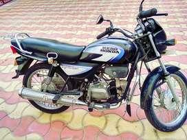 A one condition hero Honda Splendor+
