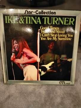Ike and tina tuner vinyl piringan hitam retro
