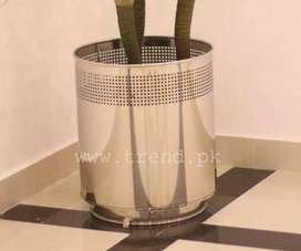 Planter Stainless Steel, Steel Gamla, Office and Home Decor