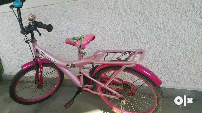Avon girls bicycle pink colour 0