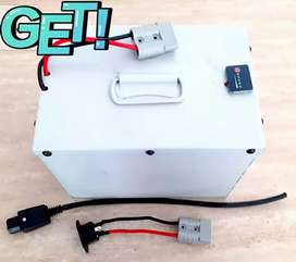Lithium ion and lifepo4 ebike battery for scooty