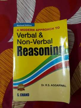 A mordern approach to verbal and non verbal reasoning