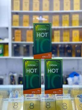 Infinix Hot 10 Ram 4/128Gb (BARU)