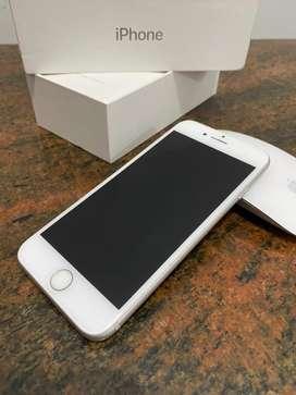 iPhone 7 128GB Silver Fullset