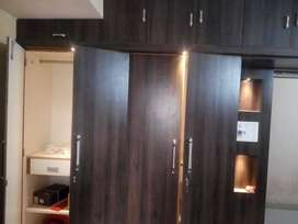 A 4bhk fully-furnished flat at PP Compound, main road is for rent.