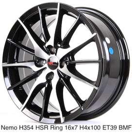 Jual Velg Racing HSR Nemo Ring 16 Untuk Mobil Honda City