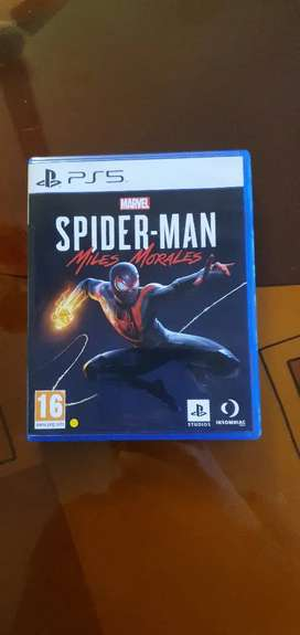 Spider man Miles Morales PS5