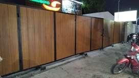 pagar klasik kayu conwood minimalis