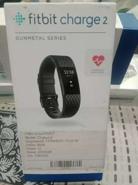 Fitbit charge 2 Smart watch Band Gunmetal Colour Came from England