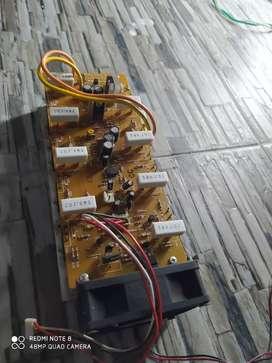 Komponen toa 240watt double chanel