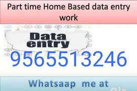Require candidates for Offline Data entry jobs.Part time / Full time