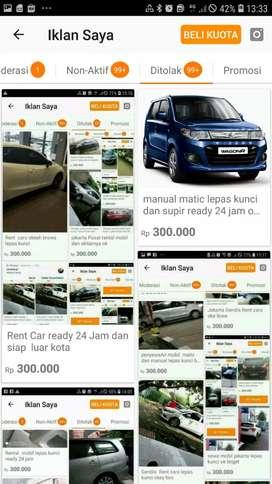Jakarta sewa mobil lepas kunci oke bro