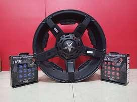 Velg mobil HSR Wheel Surabaya Ring 16 || Isuzu Panther