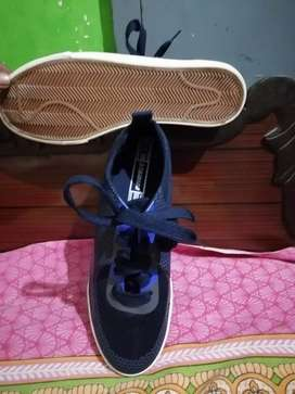 Brand new navy blue colour flat shoe for sale