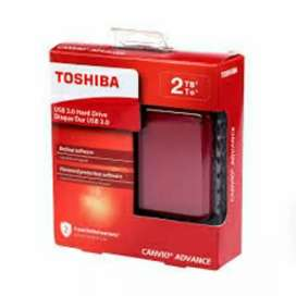 Toshiba Canvio Alumy 2 TB Wired External Hard Disk