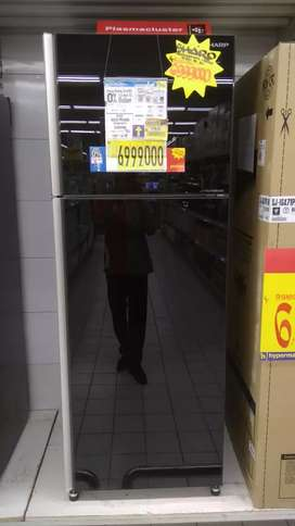 Kulkas sharp 2 pintu promo hanya 900rb barang baru