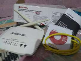 Digisol wireless broadband Router upto 300Mbps with Adapter