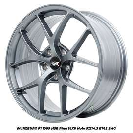 Velg Mobil Innova HSR model WURZBURG F1 1009 HSR R18X8 H5X114,3 ET42