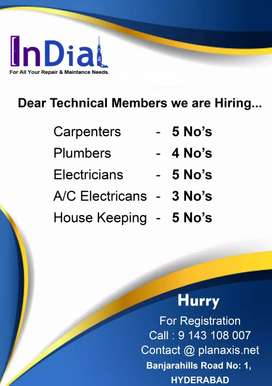 Technicians jobs  For all categories