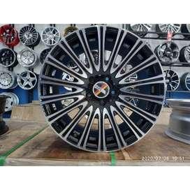 velg racing mercy ring 18 tipe sosok warna black polish
