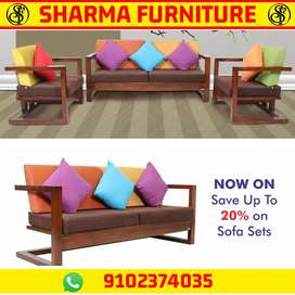 New design Sofa set save 20% Year end sale