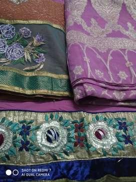 Designer sarees 1500 RS each