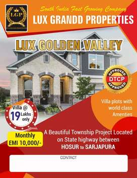 Lux grand Properties,,Bagalur,,Vijay vithyalaya school opposite,
