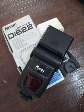 Flash nissin di622 mark II for canon