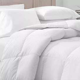 Microfiber filler comforter