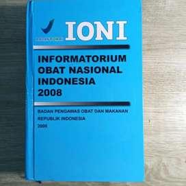 Buku ASLI Kedokteran Farmasi IONI Informatorium Obat Nasional Indonesi