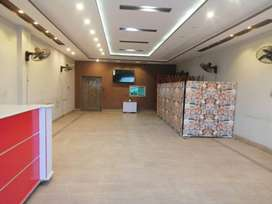 4.5 Marla Furnished Hall is available for Rent on Main Aimanabad Road.
