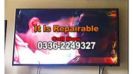 Samsung, Sony, LG, TCL All Brands LED LCD Tv's Repair At Lowest Cost.