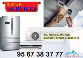 AC, FRIDGE, WASHING MACHINE, CCTV, TVREPAIR, INSTALLATION & SERVICES