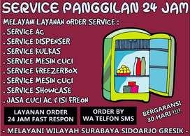 Jasa Service Ac,Kulkas Service Dispenser Jl Babat Jerawat Surabaya
