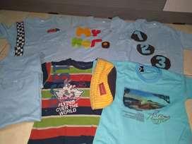 Borongan kaos anak 3-4y