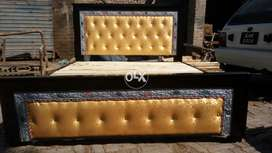 Leather coulting bed