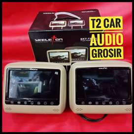 Promo 2pc monitor headrest 7inc SKELETON terlaris harga grosir