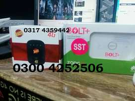 JAZZ 50% Zong 4g Pin Pack Bolt+ Devices free Delivery Lhr