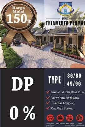 Rumah Subsidi rasa Villa DP 0 persen