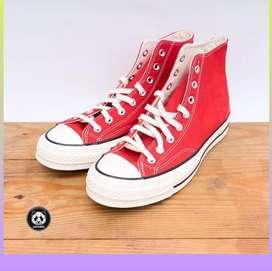 Sepatu Converse Chuck 70s Red Original Garansi Uang Kembali Lk.03