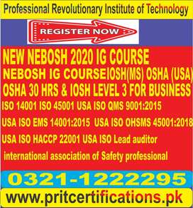 New Nebosh 2020 IG course in Alipur