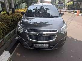 Chevrolet spin diesel 2013/2014 abu abu LTZ, sangat sehat