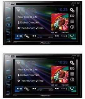 Pioneer 7inch Display Player and Rockmars 7inch Player