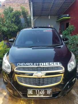 Chevrolet spin diesel LT bandar lampung 2014