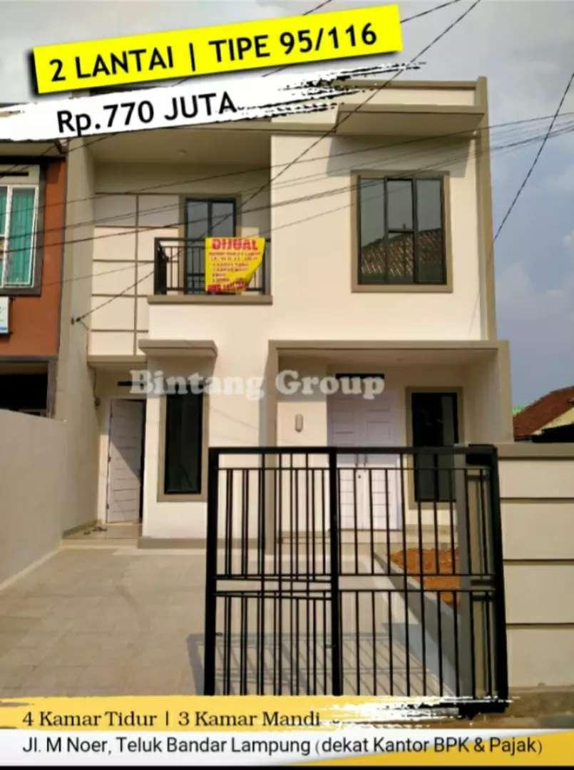 Rumah mewah II Lantai siap huni bandar Lampung 0