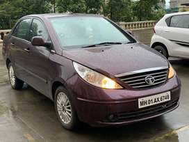 Tata Manza, 2011, Excellent condition, Top model, single hand use,