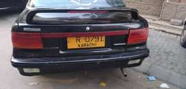 Lancer in black colour full maintain condition