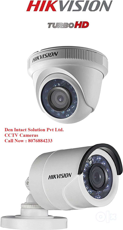 CCTV Camera 2 MegaPixel Hikvision Installation 0